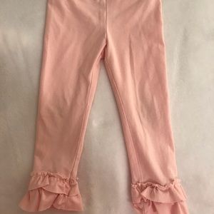 Crewcuts Girls Pink Everyday Leggings Sz 3T
